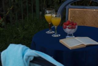 gallery garbis villas breakfast table