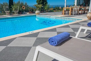 gallery garbis villas pool towels