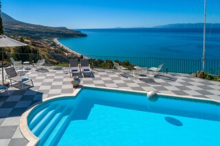 gallery garbis villas pool view