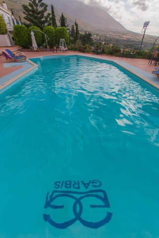 gallery garbis villas pool view details