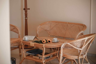 two bedroom apartment garbis villas lounge